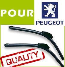 2 BALAIS ESSUIE GLACE AERO Peugeot 206 650 mm / 400 mm