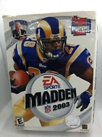 EA Sports Madden 2003 PC CD-ROM Complete w/ manual Box Version