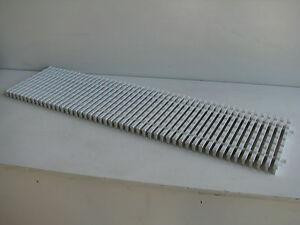 Non Slip Plastic Interlockable Drainage Bath Shower Pool Mat Panel - 1000 x 250