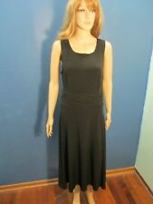 Size 18 black STRETCHY PEPLUM dress by K STUDIO