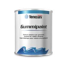 (49,80 EUR/l) Veneziani Gummipaint Bootslack für Schlauchboote 0,5l - 6 Farben