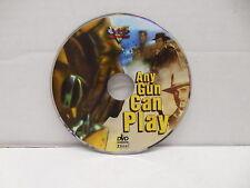 Any Gun Can Play DVD Western Movie NO CASE Gold Train Robbery Edd Byrnes VCI