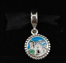 New Authentic Pandora Mexico Exclusive Bead Charm with Box