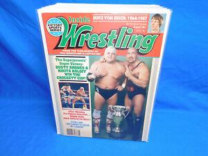 Inside Wrestling August 1987 Dusty Rhodes Nikita Koloff Magazine
