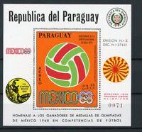 Paraguay MiNr. Block128 postfrisch MNH Olympia (Oly1574
