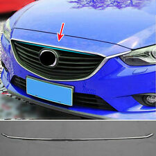 FIT FOR MAZDA 6 ATENZA CHROME FRONT HOOD BONNET GRILLE GRILL COVER TRIM GARNISH