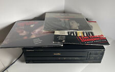 Pioneer LD-870 Laserdisc Player + 3 Action Movie Discs -Tested A+++