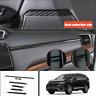 7*Carbon Fiber Dashboard Console Cover Trim Sticker For Honda CRV CR-V 2017-2020
