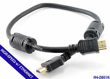 1.5ft. Hi-Speed HDMI Audio Video Cable 1.4 w/ Ethernet Channel, Ferrites