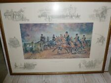 More details for framed the kings troop royal horse artillery in the 90's print joan wanklin
