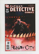 Detective Comics #876 - Hungry City - (Grade 9.2) 2011