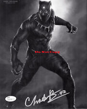 CHADWICK BOSEMAN SIGNED BLACK PANTHER Signed 8x10 autographed RP