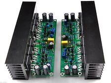 L15 MOSFET Amplifier Board 2-Channel AMP IRFP240 IRFP9240 Includes HeatsinkLJM-L