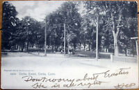 1904 Rotograph Postcard: Derby Green - Derby, Connecticut CT