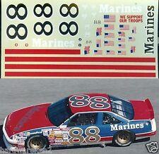 NASCAR DECAL #88 MARINES 1992 PONTIAC GRAND PRIX BUDDY BAKER 1992 DAYTONA JNJ