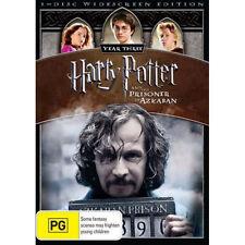 HARRY POTTER & THE PRISONER OF AZKABAN (YEAR THREE) - BRAND NEW & SEALED R4 DVD