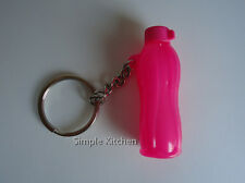Tupperware Eco Bottle Keychain Pink NEW