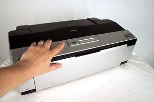 EPSON STYLUS R2880  INKJET DIGITAL PRINTER !! NO PRINT HEAD !! FOR PARTS