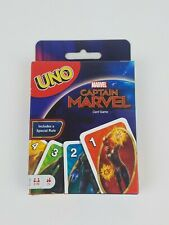 Captain Marvel UNO Card Game Mattel
