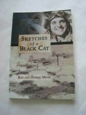 Signed! Ron Miner Sketches of a Black Cat Wwii Combat Aviator Memoirs 2012 Rare