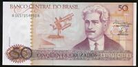 Brazil, Republic, 50 Cruzados, 1986, P#210a - Uncirculated