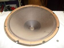 Vintage  Emerson 866 Console Tube Radio Stereo Phonograph 15 inch WOOFER SPEAKER