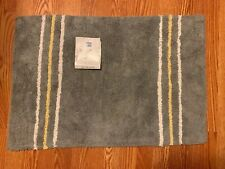 Saturday Knight Limited Gen X 100% Cotton Pile Rug Gray Grey 20 X 30 Inches