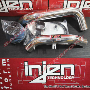 Injen SP Series Polish Cold Air Intake Kit for 2000-2005 Honda S2000 2.0L 2.2L