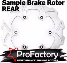 YAMAHA YZF R6 600 R1 1000 freno Trasero Rotor Disc Pro FACTORY BRAKING 2003-2013