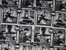 Batman Robin Bat Man Super Heroes Comics Blocks Cotton Fabric BTHY