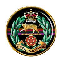Royal Hampshire Régiment, Armée Britannique Broche Badge