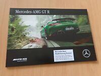1460) Mercedes AMG GT R mit 585 PS / 2016 Prospekt brochure