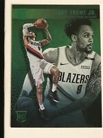 2018-19 Chronicles #211 Gary Trent Jr. Rookie Essentials RARE GREEN SP PARALLEL