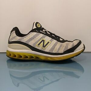 NEW BALANCE 8585 Zip Mens Size 11 D Black Yellow White Running Shoes Sneakers
