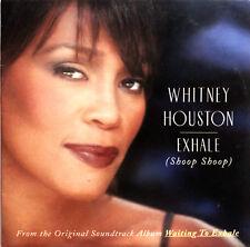 Whitney Houston CD Single Exhale (Shoop Shoop) - Europe (VG+/VG+)
