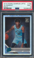 Ja Morant 2019 Donruss Optic Holo Rated Rookie PSA 9 Silver Prizm RC