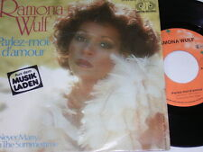 "7"" - Ramona Wulf Parlez moi d´amour & I´ll never Marry in the Summertime # 5936"