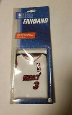 (1) Nba Miami Heat Dwayne Wade Fan Band Wristband Officially Licensed