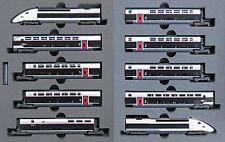 Kato N Scale 10-1324 TGV Duplex New Color Carmillon 10 Cars Set F/S