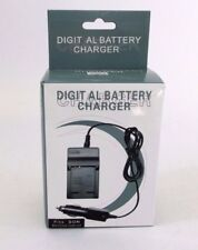 Digital Battery Charger Car Adapter NP-BN1 CAS CNP120 shipped from USA
