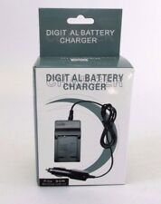 Battery Charger+Car Adapter for Sony NP-BN1 CAS CNP120 DSC TX10 TX100V T110 T99