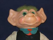 "11"" 1960'S Scandia House Enterprises Lucky Irish Leprechaun Girl Troll U350a"
