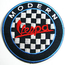 VESPA MODERN Cute Embroidered Iron On Patch Italy Italian Scooter DIY (3 Inches)