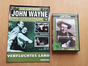 Verfluchtes Land - John Wayne Collection Nr. 18 + Heft     ---DVD---   FSK:12