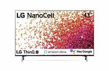 "Televisore TV LG NanoCell 43"" 43NANO753PA SMART LED UHD 4K HDR 2021"