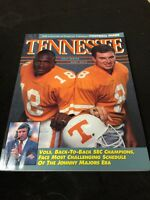 1991 University Of Tennessee Football Guide