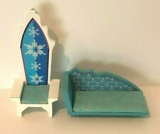 KidKraft Disney Frozen Ice Castle Wooden Dollhouse Furniture Chair Chase Couch