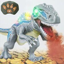 Dinosauro Velociraptor Radiocomandato Luci Suoni Effetto Fuoco Giocattolo Bambin