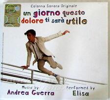 ELISA - UN GIORNO QUESTO DOLORE TI SARA' UTILE - Soundtrack - CD Sigillato
