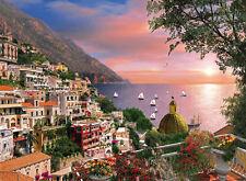 New Clementoni Positano 1000 Piece Scenic Landscape City in Italy Jigsaw Puzzle